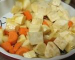Руло от кайма с печени зеленчуци 9
