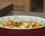 Руло от кайма с печени зеленчуци 10