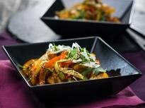 Сладко-кисело тофу със зеленчуци