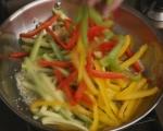 Сладко-кисело тофу със зеленчуци 6