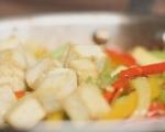 Сладко-кисело тофу със зеленчуци 7