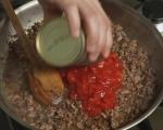 Сардински равиоли със сос от кайма и домати 8