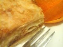 """Торта """"Наполеон"""" с портокал"""