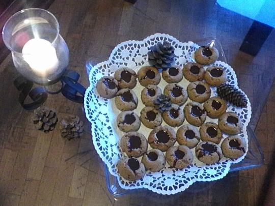 Канелени сладки с шоколадов ганаш