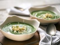 Супа от карфиол, коприва и спанак