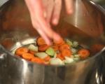 Картофена яхния със зелен фасул 2