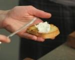 Брускети с домашно прясно сирене 5