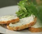Брускети с домашно прясно сирене 7