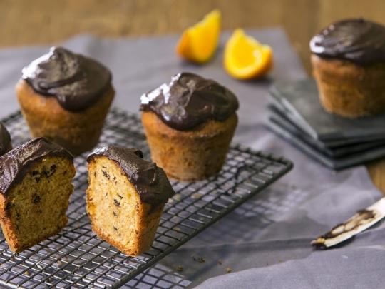 Шоколадово-портокалови кексчета