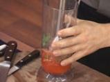 Картофени четвъртинки на плоча с доматен винегрет 3