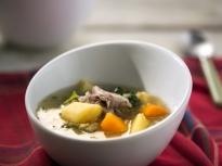 Исландска супа с месо