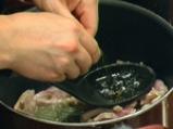 Лучени ньоки със свинско 2