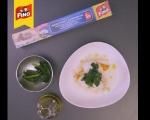 Рулца от бяла риба, пълнени със зеленчукови спагети 7