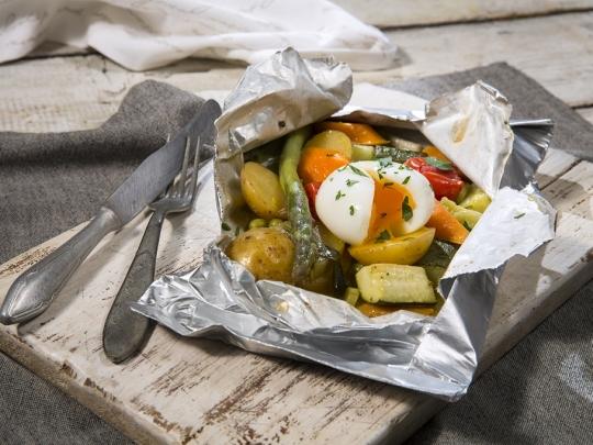 Зеленчуци в пакет