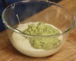 Суфле с пресен лук и чесън 4