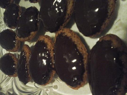Мадлени с шоколад