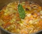 Минестроне с печени зеленчуци и песто  4