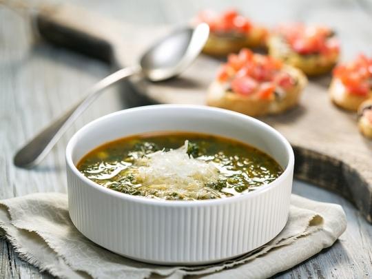 Пролетна супа с коприва