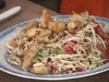 Салата от соеви кълнове с пилешки хапки 4