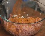 Пилешки наденички с къри леща 3