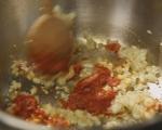 Пилешки наденички с къри леща 7