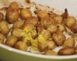 Салата от пресни картофи и резене 2
