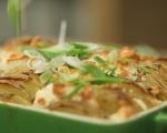 Запечени картофи със сирене и риган 8
