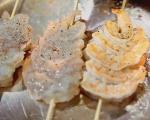 Пъстра салата със скариди 8