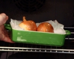 Салата от пресни картофи, зелен фасул и аншоа