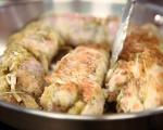 Пролетна яхния с пилешки руладини 6