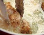 Пролетна яхния с пилешки руладини 12