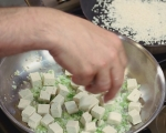 Спелта с тофу и пресен лук 2