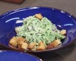 Зелена салата с репички и таханов сос 7