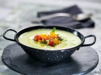 Студена крем супа от тиквички