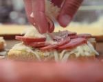 Сандвич с кашкавал и шпеков салам 8
