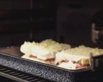 Сандвич с кашкавал и шпеков салам 11