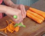 Морковена салата с фъстъчен дресинг
