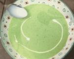 Крем супа от зелен фасул с пресен лук 9