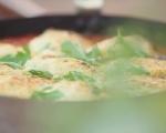 Кнедли от сирена в доматен сос 7