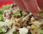 Зелена салата с малинов дресинг 7
