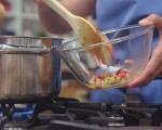 Царевична супа с деликатесен салам 4