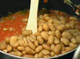 Фетучини с фасулен сос Болонезе 3