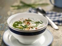Студена супа от репички и краставици