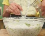 Студена супа от репички и краставици 4