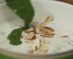 Студена супа от репички и краставици 9