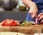 Тосканска салата с шкембе 4