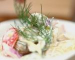 Картофена салата със сос от хрян 6