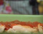 Пилешко с доматен сос на фурна 5