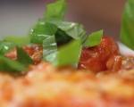 Пилешко с доматен сос на фурна 7