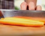 Салата от моркови с маслини и мента 2